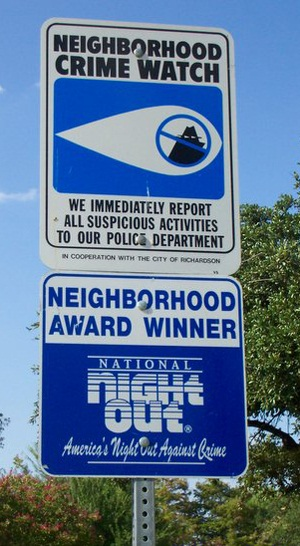 PIC of NCW Street Sign
